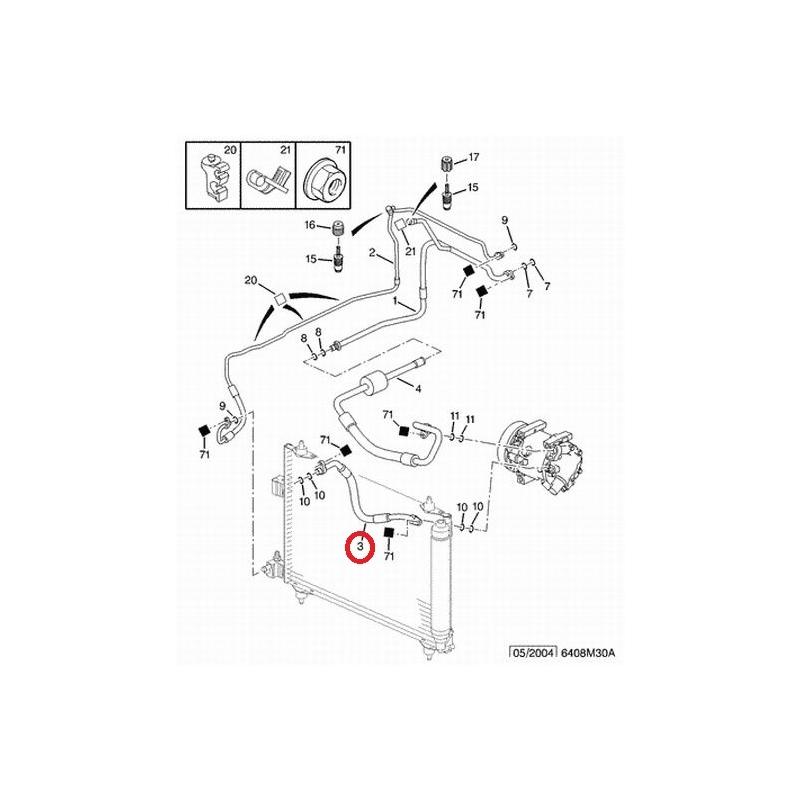 peugeot 406 vacuum diagram