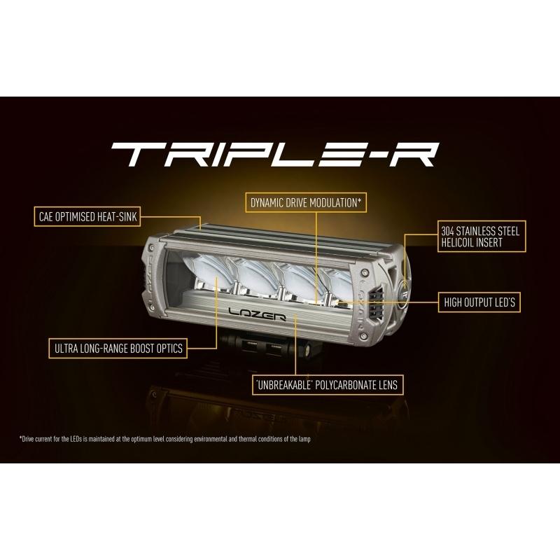 b216ae0a052 Lisakaugtuli TRIPLE-R 24 LED SPOTLIGHT @ HMK AUTO: kõik prantsuse ...