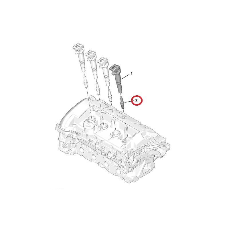 1bf555363f3 Süüteküünal OEM Citroen/Peugeot @ HMK AUTO: kõik prantsuse autodele!