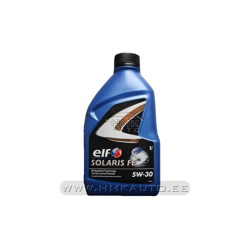 Engine oil elf solaris fe 5w30 1l hmk auto for 5w30 motor oil sale