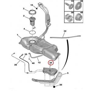 FAP filtri lisaaine paak Citroen/Peugeot