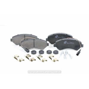 "Brake pad set front Jumper/Boxer/Ducato 2011- 16"" wheel (2 sensor)"