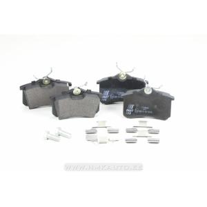 Brake pad set rear Citroen/Peugeot/Renault/VAG