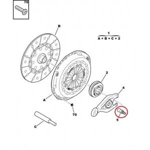 Sidurikahvli sarniir Citroen/Peugeot 2,0HDI 16V/2,2EW