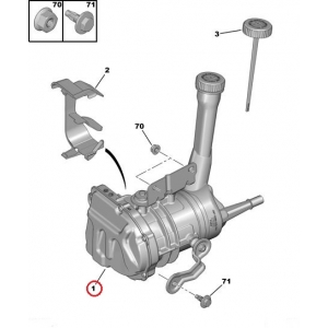 Roolivõimendi pump Berlingo/Partner 2008-