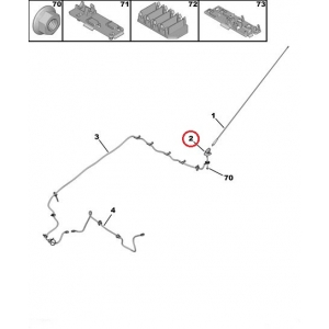 Antenna base Peugeot/Citroen