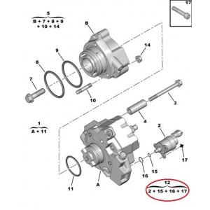 Fuel pressure regulator Jumper/Boxer/Ducato/Transit 3,0HDI