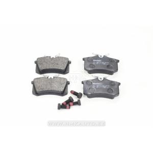 Piduriklotsid tagumised Citroen/Peugeot/Renault/VAG