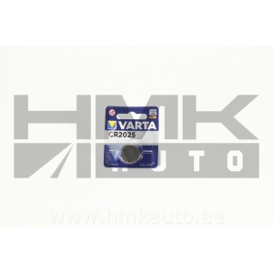 Батарейка VARTA CR2025 3V litium 20,0x2,5mm