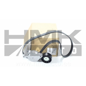 Alternator belt kit Citroen/Peugeot  DV6DTED