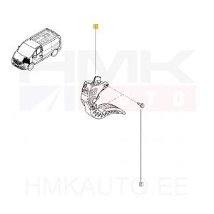 Accelerator pedal Renault Trafic III