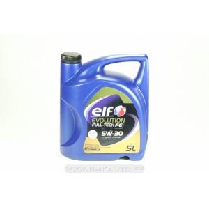 Моторное масло 5W30 ELF EVOLUTION FULLTECH FE 5L