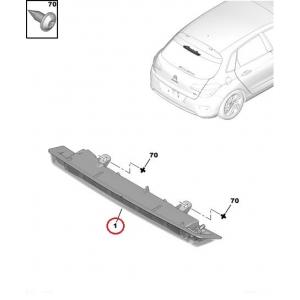 Дополнительный стоп-сигнал Citroen C4 / C5