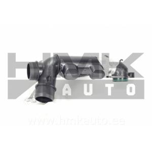 Ahdinletku (resonaattori) Citroen C5 (X7) Peugeot 407