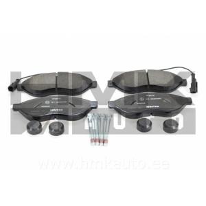 "Brake pad set front Jumper/Boxer/Ducato 2006- 15"" wheel"