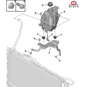 Jahutusvedeliku paisupaak Jumper/Boxer/Ducato 2006-(anduriga)