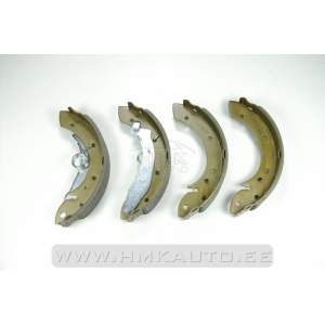 Brake shoe set Berlingo/Partner