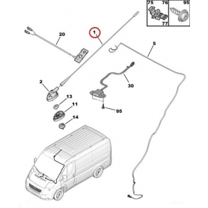 Antenni Peugeot/Citroen