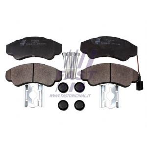 Brake pad set front Jumper/Boxer/Ducato 1,8T 02-06