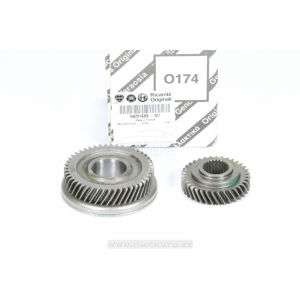5-th gear gears PSA BE4 gearbox