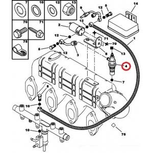 Külmkäivitus pihusti (leekküünal) Jumper/Boxer 2,8HDI