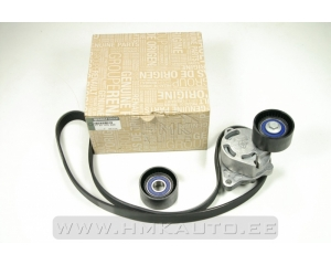 Alternator belt kit OEM Renault 2,2-2,5DCI