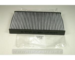 Salongiõhu filter aktiivsöega OEM Citroen C2/C3/C4, Peugeot 1007/307/308/RCZ