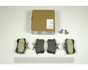 Brake pad set rear OEM Citroen/Peugeot/Renault