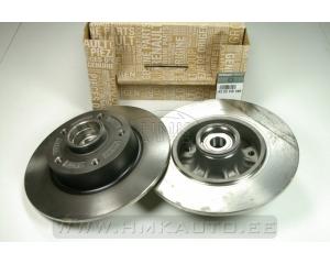 Комплект задних тормозных дисков  Renault Megane III/Scenic III