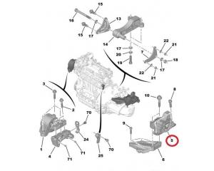 Mootoripadi vasak Nemo/Bipper