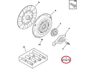 Sidurikomplekt OEM Jumper/Boxer/Ducato 2,2HDI 06-