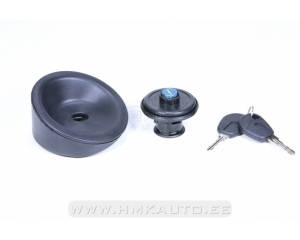 Fuel filler cap with keys Citroen Berlingo/Peugeot Partner 96-08