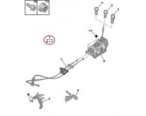 Vaihdekeppi + vaijerit Citroen C2/C3 MA M.DV4