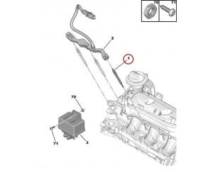 Eelsüüteküünal OEM Citroen/Peugeot 2,7HDi