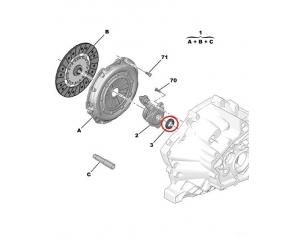 Akselitiiviste, vaihteisto 26x41x11 Ducato 2,3 / PSA ML6C