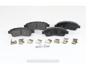 Тормозные колодки задние Jumper/Boxer/Ducato 2006-