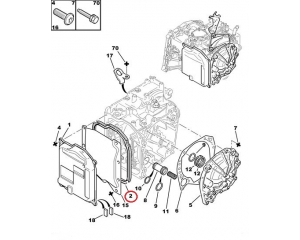 Käigukasti otsakaane tihend AL4 , AT8, DP0