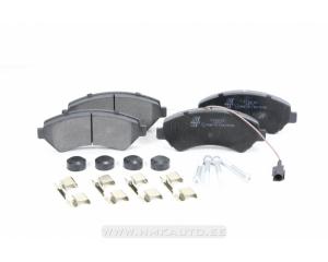 "Brake pad set front Jumper/Boxer/Ducato 2006- 16"" wheel"