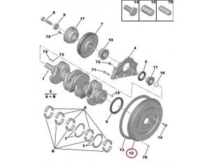 Hooratas Citroen/Peugeot 2,0HDI