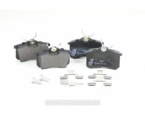 Brake pad set rear Citroen/Peugeot/Renault/VAG