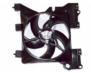 Fan with frame Berlingo/Partner/Xsara II