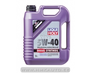 Моторное масло Diesel Synthoil 5W-40 5L