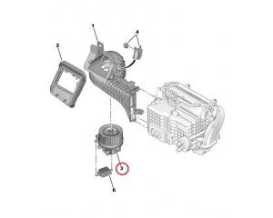 Salongiventilaator Peugeot 3008/5008 , Citroen DS5
