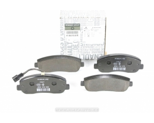Тормозные колодки передние комплект Renault Master 2,3DCI 2010-