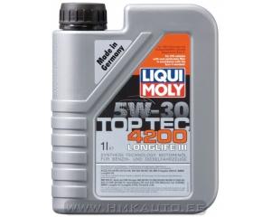 TOP TEC 4200 5W-30 LONGLIFE III õli 1L