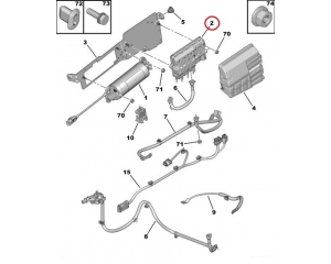 Stop and Start Module Citroen/Peugeot