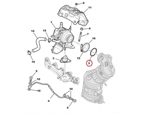 Turbo tihend Citroen Nemo/Peugeot Bipper 1,3HDI