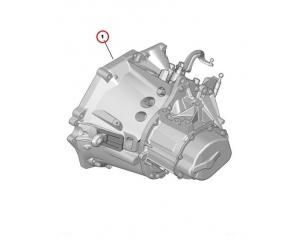 Käigukast  Citroen/Peugeot BE4R CP19X72 20DM69 (kasutatud)