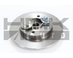 Brake disc rear Peugeot 307/Citroen C4