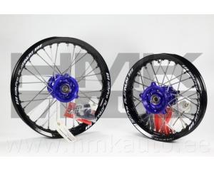 Blue SM Pro Standard Wheels kit for KTM SX65 / Husqvarna TC65 2016-